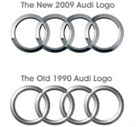 Audi Logo Refreshed!